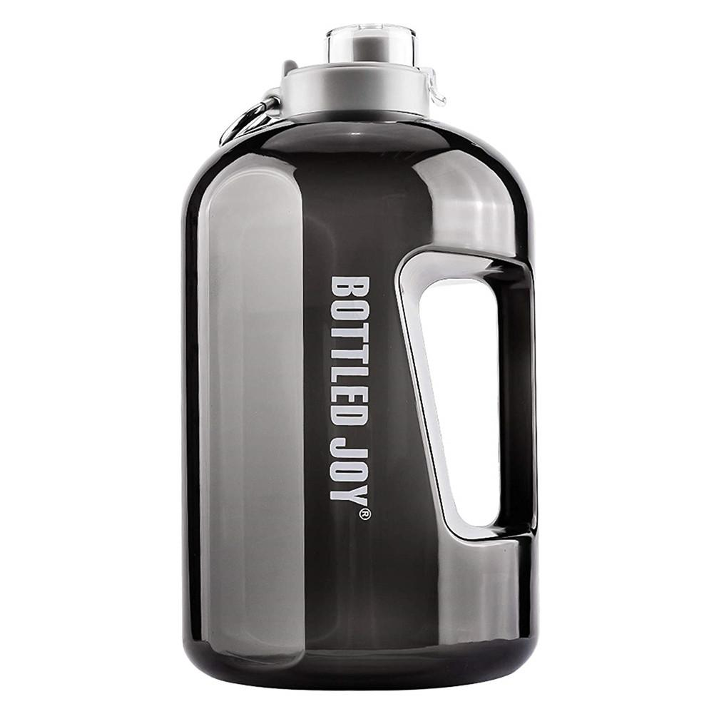 Quifit 141oz 4L 1 Gallon BPA Free Plastic Big Drink Water Bottle Jug Gourd For Travel Sports Fitness GYM Waterbottle Eco Hot New