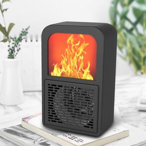 Portable 3D Flame Heater Space