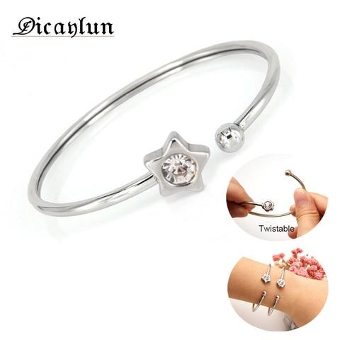 Купить dicaylun id браслет ювелирные изделия аксессуары регулируемые