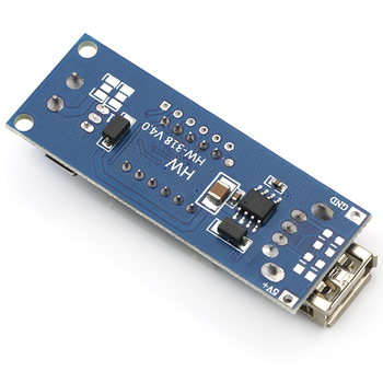 DC 4.5-40V to 5V 2A USB Charger LED Step-down Buck Converter 6