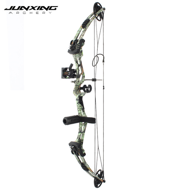 Junxing Archery 35-55 Lbs Compound Bow And Arrow Set, 310FPS, 70% Labor Saving Rate, Shooting Hunting Accessories 2