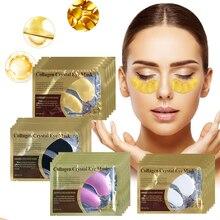 Eye Mask Crystal Collagen Eye Patches Repair Dry Skin Eye Mask Dark Circles Remove Anti-Aging Wrinkle Moisturizing Eye Patches
