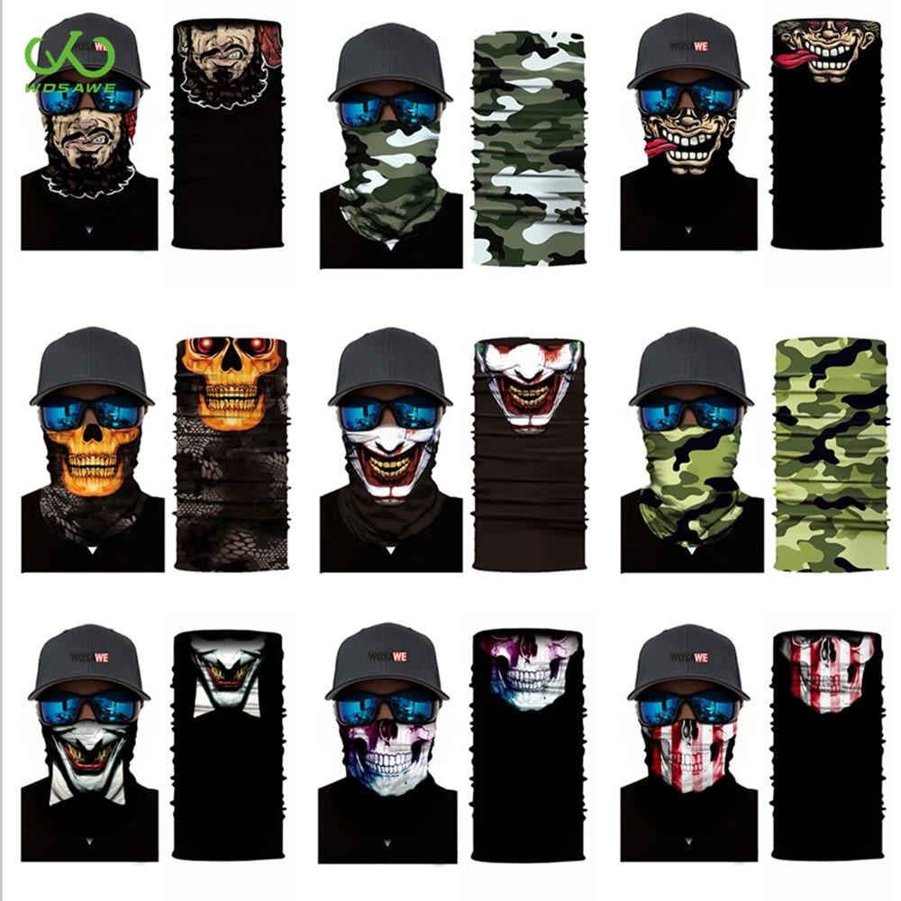 WOSAWE UV Schutz Motorrad Maske 3D Dreieck Kopf Schal Neck Balaclava Stirnband Atmungs Radfahren Ski Gesicht Maske