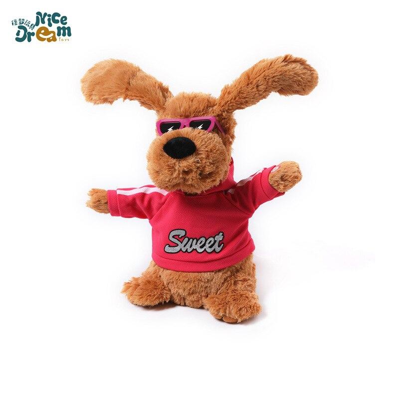 Plush Electric Doll Dynamic Ear Smart Singing Toy Electric Toys Yiwu Customizable Electric Dog