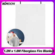 1.2M x 1.8M Fire Blanket Fiberglass Fire Flame Retardant Emergency Survival Fire Shelter Safety Cover Fire Emergency Blanket