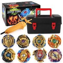 Gyro-Set Launcher Beyblades Burst Metal Fusion Toys Storage-Box Children Golden for