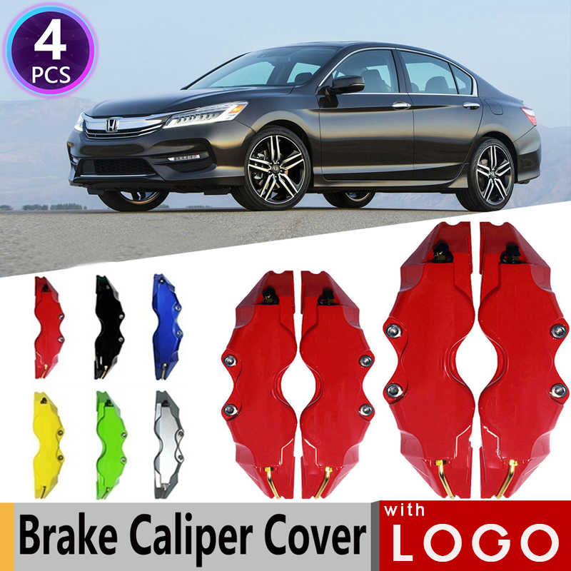 Color Name : Red Caliper covers ABS Plastic Disc Brake Caliper Cover Silver Chrome Logo Front And Rear Fit For BMW Fit For Audi Fit For Mercedes Benz Fit For Toyota Fit For Nissan Fit For Hyundai
