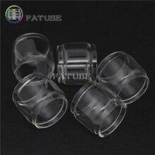 5pcs FATUBE bubble glass tubes Cigarette Accessories for Aspire cleito 120 5pcs fatube straight glass cigarette accessories for cleito 3 5ml cleito 120 4ml cleito pro 3ml cleito 120 pro 3ml
