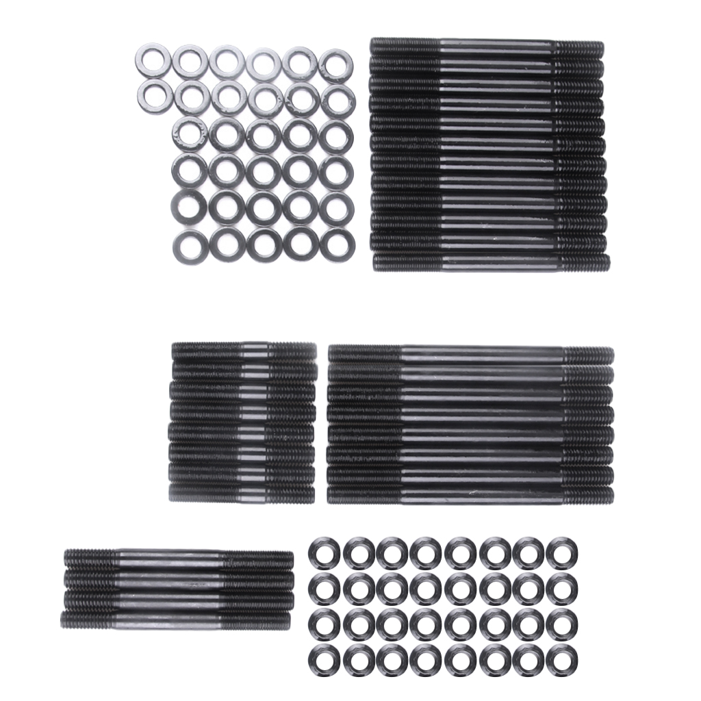 BBC Head Stud Kit Metal Heads Studs Gaskets for Chevy BBC 75|Cylinder Body & Parts| |  - title=