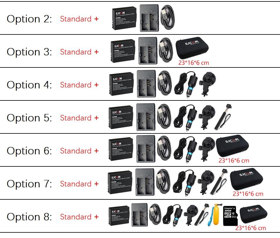 "Original SJCAM SJ4000 AIR Action Camera Full HD Allwinner 4K 30FPS WIFI 2.0"" Screen Mini Helmet Waterproof Sports DV Camera-5"