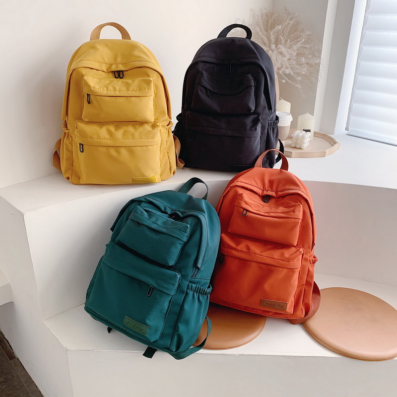 H511c259ed1274f3d850b35ec60fcf478x - New Waterproof Nylon Backpack for Women Multi Pocket Travel Backpacks Female School Bag for Teenage Girls Dropshipping