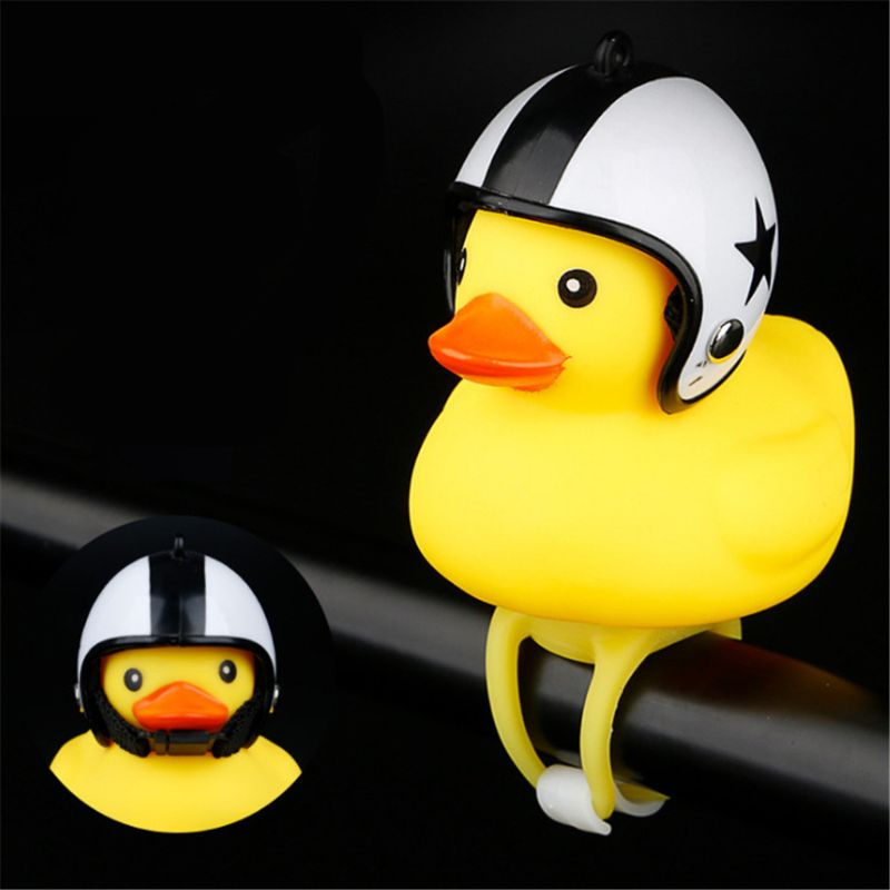 Smart Funny Yellow Duck Bicycle Bell Ring Bell For Car Cycling Bicycle Bike Ride Horn Alarm Adult Kids Toy