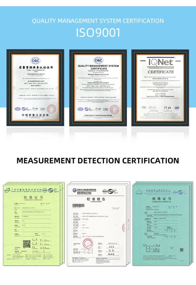 H511c36ffa4e4477aa3824b9d7b624a819 MESTEK IR01 digital thermometer humidity meter infrared thermometer hygrometer temperature meter pyrometer Imager termometro