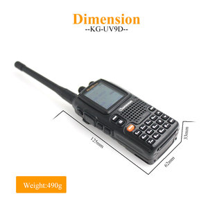 Image 4 - Wouxun KG UV9D Plus WalkieTalkie Multi Bands Wouxun kg uv9dplus Radio Station 76 174/230 250/350 512/700 985MHz FM Transceiver