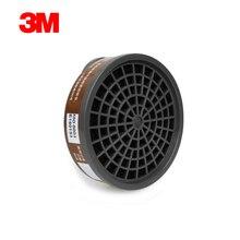 3M 3301 מסכת גז מחסנית מסנן אורגני גז ציור ריסוס מסנן עם 3M 3200 מסכת שימוש