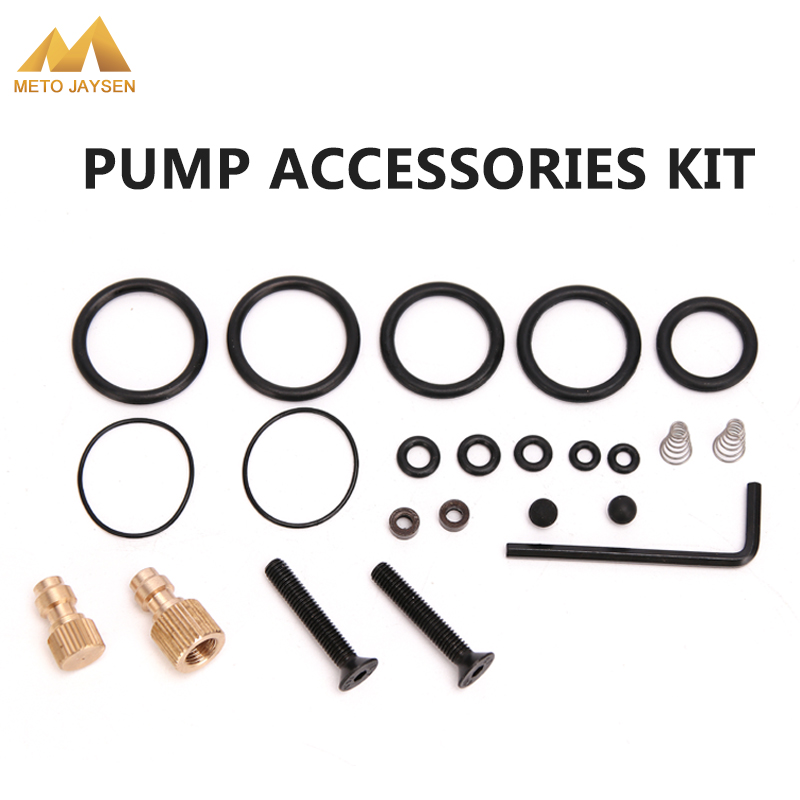 PCP Pump High Pressure Air Pump Accessories Spare Kits NBR Copper Sealing O-rings 40mpa 400bar 6000psi Replacement Kit 23PCS/SET