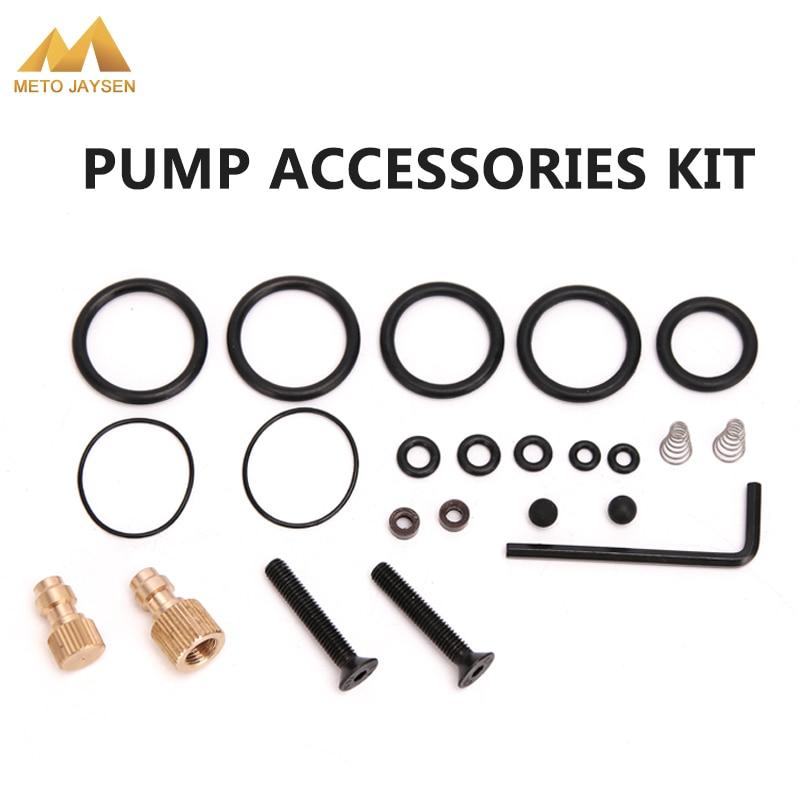 PCP Pump High Pressure Air Pump Accessories Spare Kits NBR Copper Sealing O-rings 40mpa 400bar 6000psi Replacement Kit 23PCS/SET