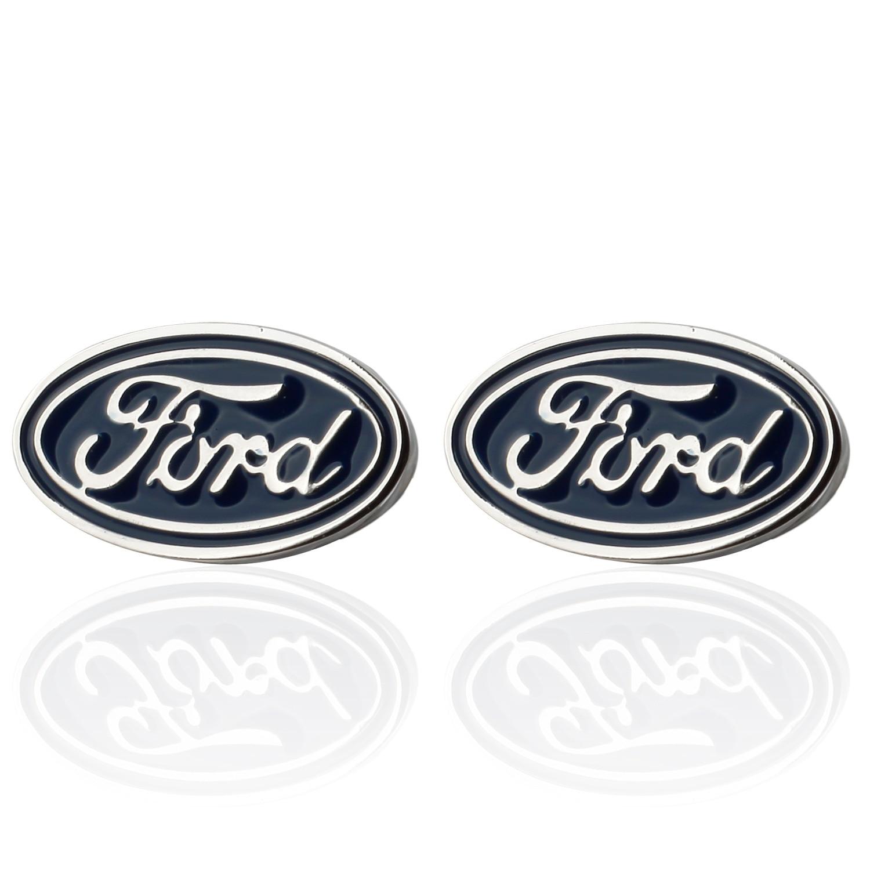 Frame Meng High Quality French Cuff Sleeve Nail Men Cufflinks Enamel Series Ford Car Logo Cufflinks