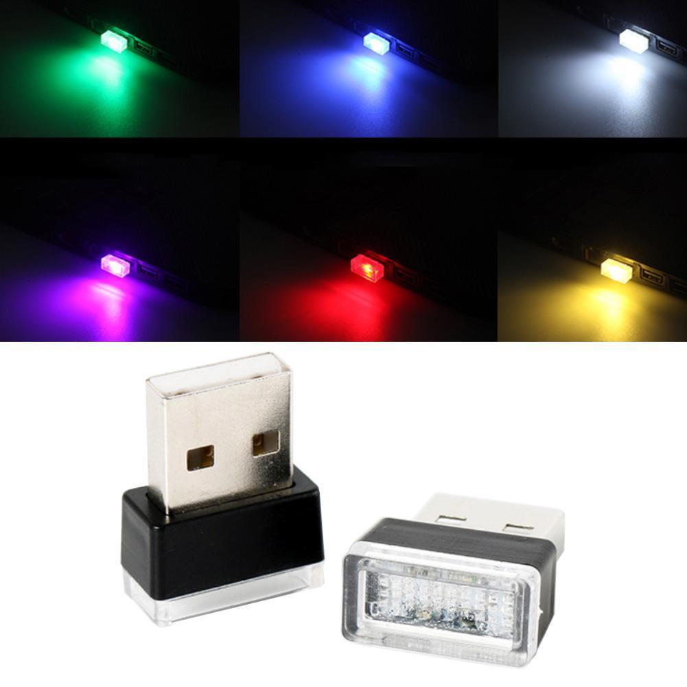 Лидер продаж! Мини USB СВЕТОДИОДНЫЙ Автомобильный домашний кинотеатр автомобильный интерьерный светильник неоновая атмосферная лампа
