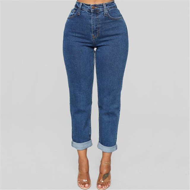 Woman Mom Jeans Pants Boyfriend Harem Jeans For Women With High Waist Push Up Large Size Ladies Jeans Denim 2020 Jeans Mujer#G30 1