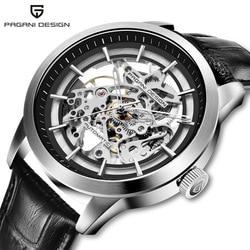 Bo kanny Pagani nowe produkty zegarek zegarek analogowy w pełni automatyczny męski zegarek męski