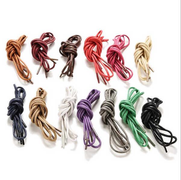 1 par redondo encerado Martin botas Zapatos cuerdas cordones zapatos cordones 8 colores