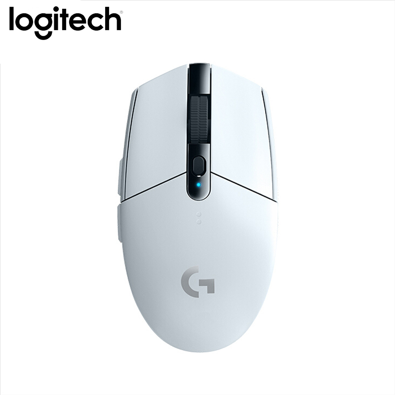 Logitech G304 Gaming Wireless <font><b>Mouse</b></font> LIGHTSPEED HERO Sensor <font><b>12000dpi</b></font> 400ips AA Battery <font><b>Mouse</b></font> for Windows Mac Gaming <font><b>Mouse</b></font> image