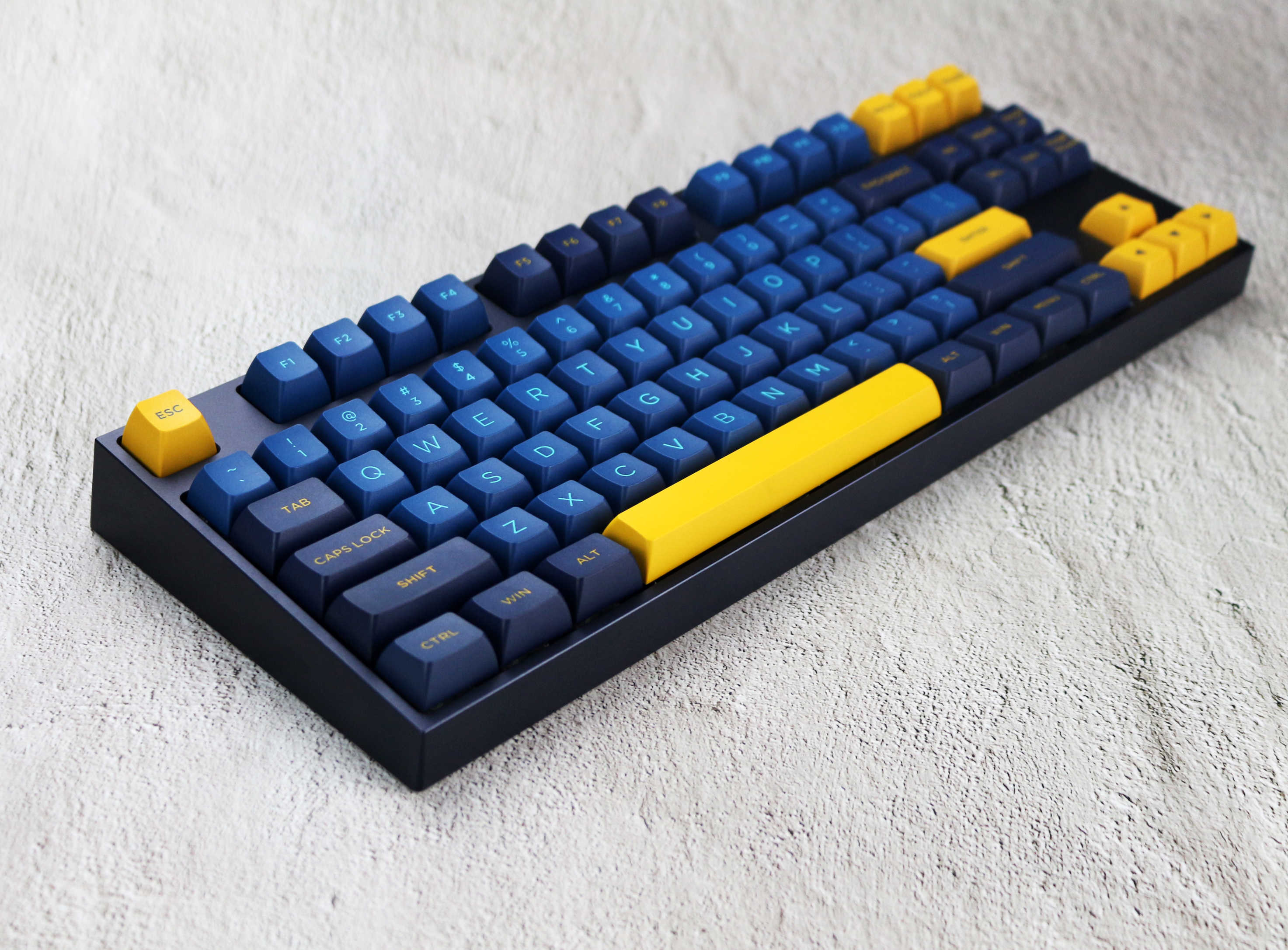 MP 深夜 166 キー OSA PBT ダブルショットキーキャップチェリー MX スイッチキーキャップ有線 USB メカニカルゲーミングキーボード