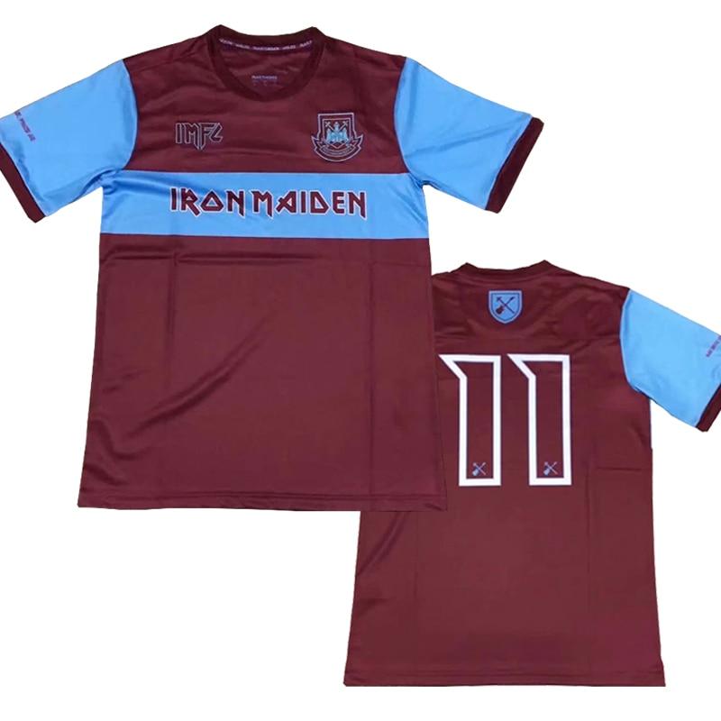 2020 Nuevo West Ham Doncella Especial Camiseta Camisetas De Los Martillos West Ham United Tee Shirts