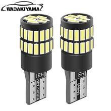 10 шт светодиодные лампы t10 canbus w5w для автомобилей audi