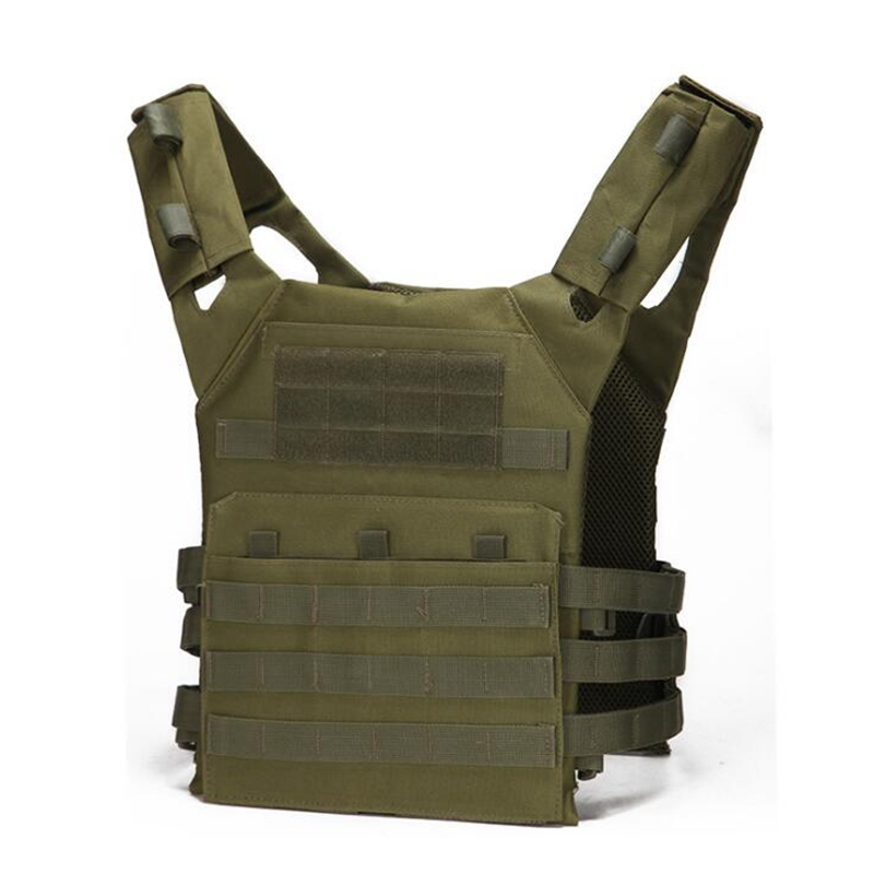 Airsoft Camouflage Combat Vest Tactical Vest Military Molle Equipment Army Hunting Vest Outdoor Paintball CS War Game