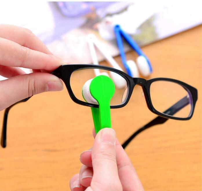 Портативный очиститель для очков, мягкие очки линза, очиститель для очков из микрофибры, инструмент для протирки очков