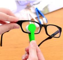 Óculos de óculos portátil limpador de óculos de olho macio lente limpeza de microfibra óculos mais limpo escova de limpeza ferramenta de óculos