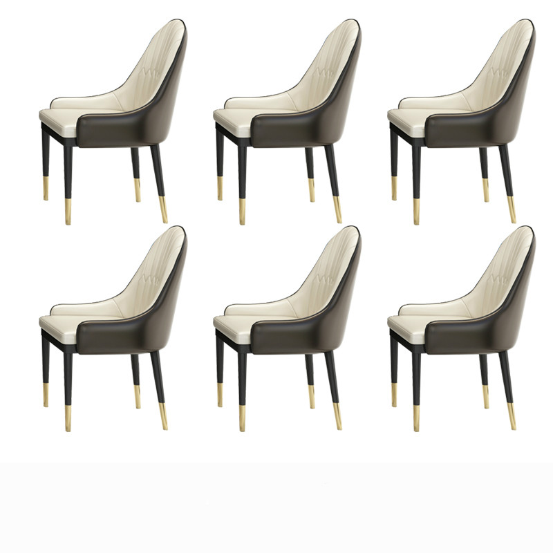 Nordic style dining chair simple back stool makeup nail desk chair hotel modern light luxury iron chair