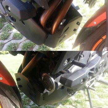 Para Kawasaki Versys 650 KLE650 2015, 2016 de 2017 accidente Fondo chasis Protector de Moto de escape del motor guardia accesorios de la motocicleta