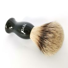 Silvertip Badger Hair Shaving Brush of Resin Handle With Gift Box Packed Perfect for Safety Razor Double Edge Razor
