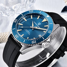Часы наручные pagani Мужские механические брендовые модные деловые