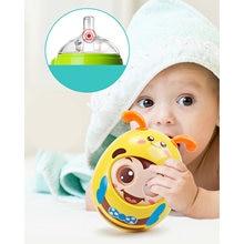 Adorable Roly-poly tambor muñeca juguetes de desarrollo para bebés vientre tiempo