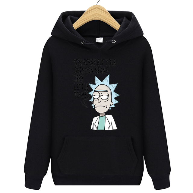 RICK AND MORTY THEMED HOODIE (13 VARIAN)