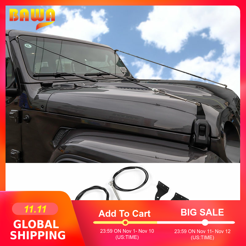 BAWA Protective Frames for Jeep Wrangler JL 2018 Removing Barriers Rope Accessories jl