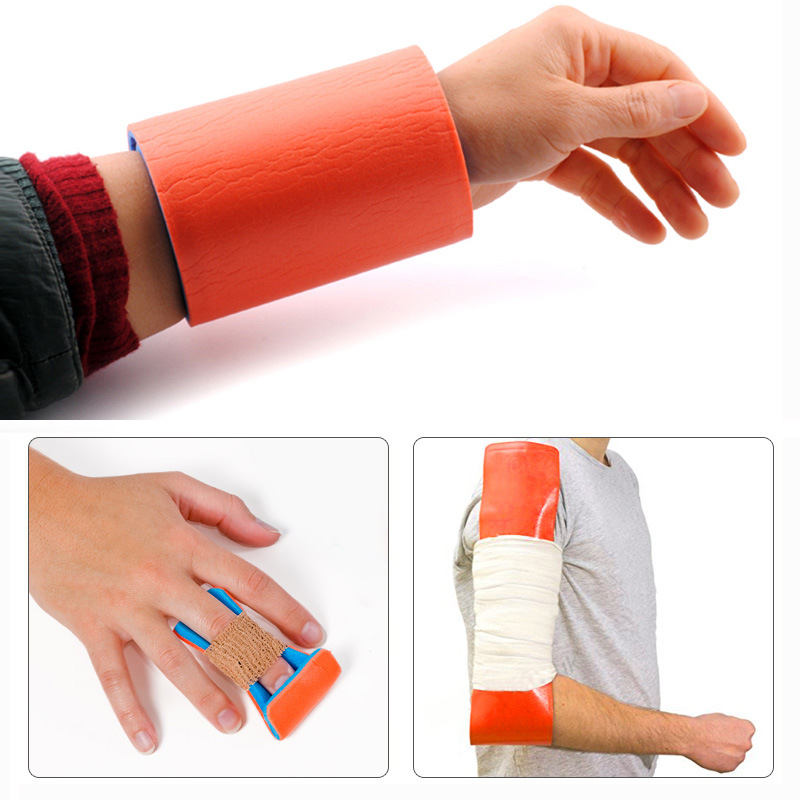 First Aid Shank Bone Medical Roll Splint Leg Wrist Fixed Fixed Waterproof Splint Health Care Braces Emergency Kit