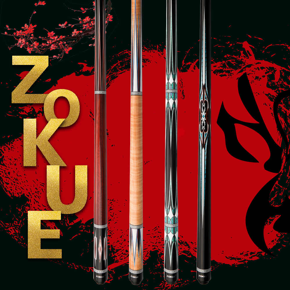 ZOKUE bilard Cue koreański 3 poduszka Cue Carom Cue Taper 12mm SKY-FAY Tip 142 cm Hard Maple Shaft Fit Extension