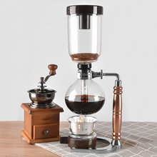 Siphon-Coffee-Maker Pot Tea FILTER-3CUP Glass-Type Japanese-Style