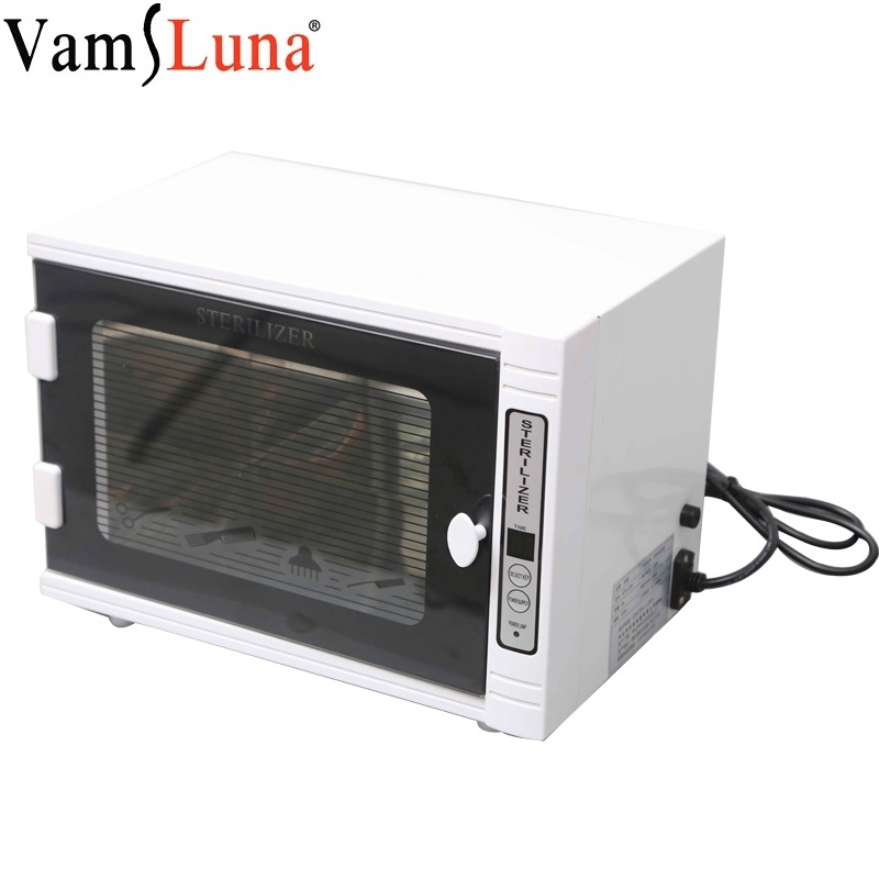 UV Sterilizer Box Nail Manicure Tools Disinfection Cabinet Mini Ozone Ultraviolet Timer EU Sterilization Salon Esterilizador
