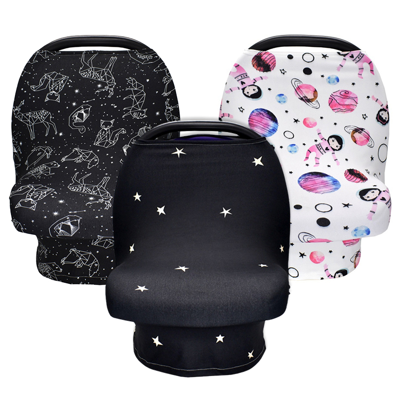 Baby Breastfeeding Nursing Maternity Apron Soft Cover Baby Scarf Infant Car Seat Stroller Breast Feeding Scarf Nursing Covers