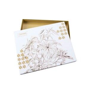 Image 5 - LilySilk 100 шелковая ночная рубашка, халат с карманом для женщин 22 Momme с длинным рукавом Кружевное роскошное Белье для сна Бесплатная доставка