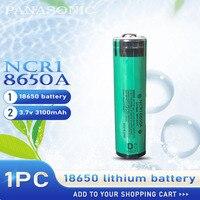 Nuovo Originale Panasonic NCR18650A 3.7v 3100mah 18650 Batteria Al Litio Ricaricabile NCR 18650A con il Bordo di Protezione per la Torcia Elettrica