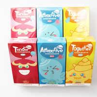 120 шт презервативы 3 типа ультра тонкий презерватив для члена интимные товары сексуальные продукты натуральный латекс пенис рукав секс для ...