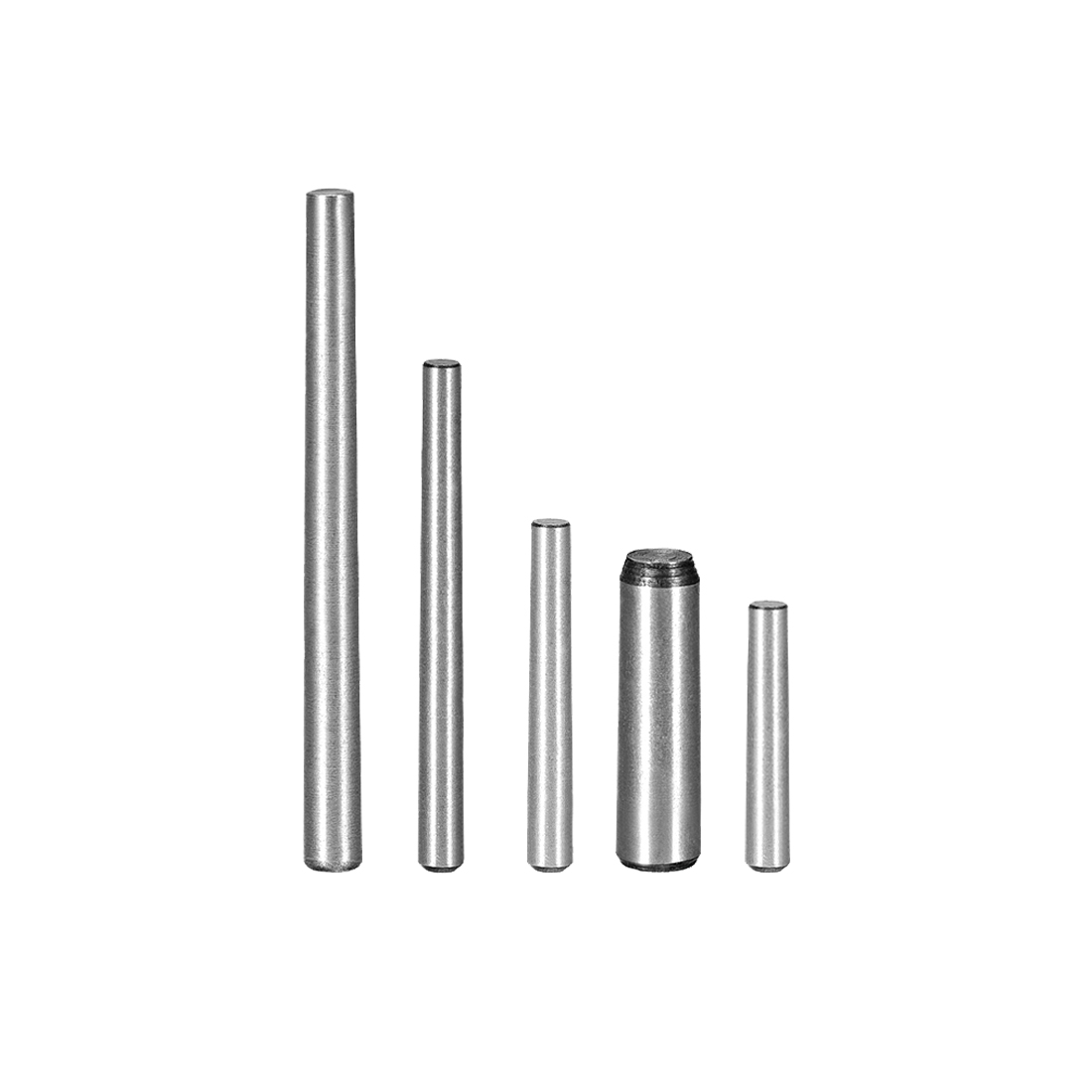 Uxcell 25Pcs Carbon Steel 3x12/16/20/25/30/35/40/50/60mm 6x16/20mm 1:50 Taper Pin Release Easily Plain Finish