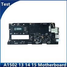 Promocja dla Macbook Pro 13 #8222 A1502 laptop płyta główna 2013 2014 2015 rok i5 i7 płyta główna 820-4924-A 820-3476-A tanie tanio MLLSE CN (pochodzenie) Kable PCI Zdjęcie
